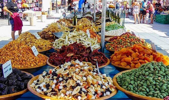 Marché local de Barcarès
