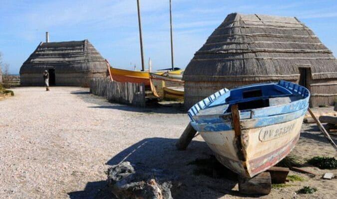 Port de pêche typique à Port Barcarès