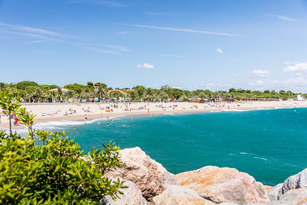 plage d'Argeles sur mer